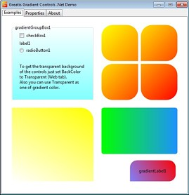 Click to view Gradient Controls .Net 1.0 screenshot